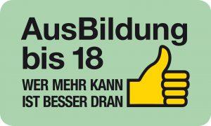Logo AusBildung bis 18